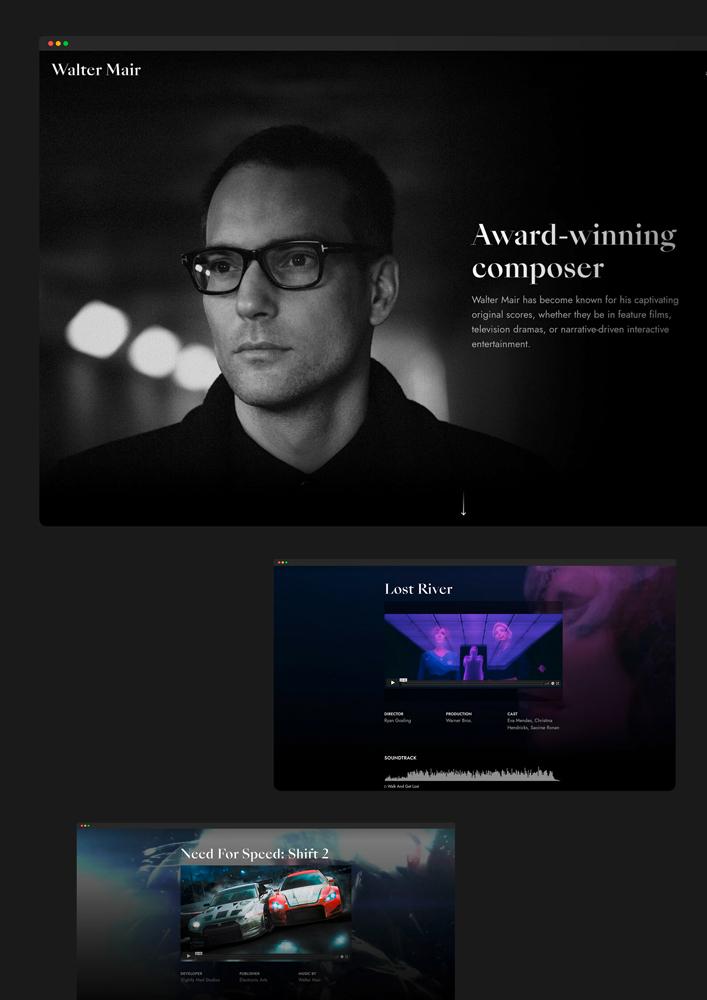 Walter Mair Website